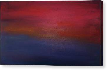 Sunrise Sunset Canvas Print by Alanna Hug-McAnnally
