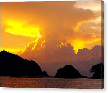 Sunscape Curu National Wildlife Park Costa Rica Canvas Print