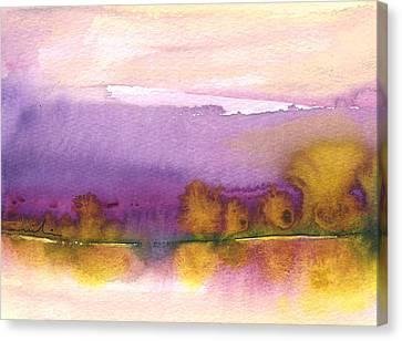 Sunset 37 Canvas Print by Miki De Goodaboom