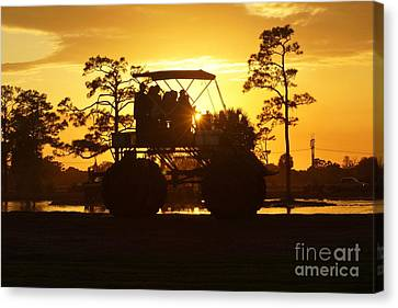Sunset Buggy Canvas Print