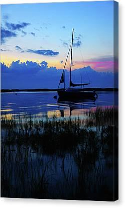 Sunset Calm Canvas Print