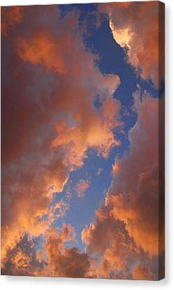 Sunset Cloudscape 1035 Canvas Print by James BO  Insogna