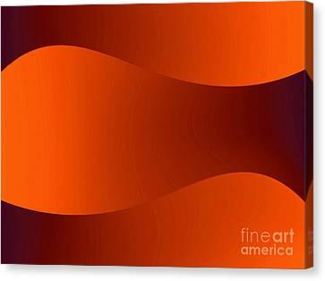 Sunset Dunes Canvas Print