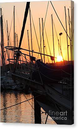 Sunset Escape Canvas Print by Rogerio Mariani