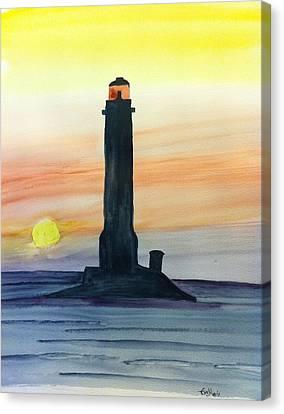 Sunset Canvas Print by Eva Ason