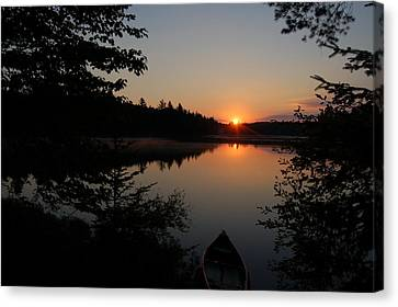 Sunset Evening Canvas Print