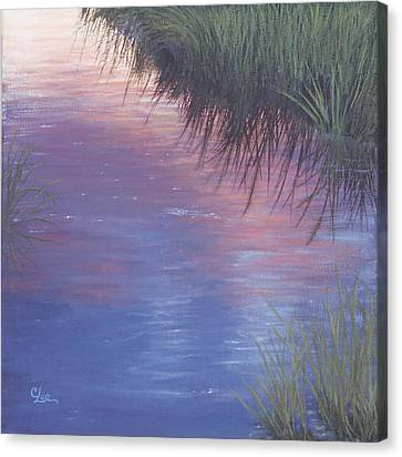 Sunset Marsh Canvas Print