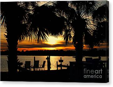 Sunset Memories Canvas Print by Benanne Stiens