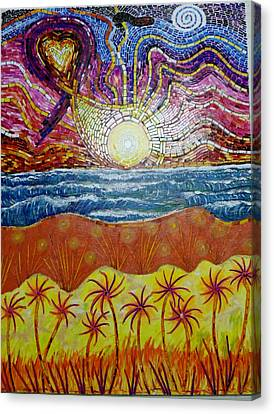 Sunset Canvas Print by Mike Stair