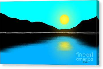 Sunset No. 2 Canvas Print by George Pedro
