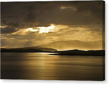 Sunset On Skye Canvas Print