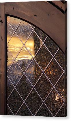 Sunset Projection Canvas Print by Viktor Savchenko
