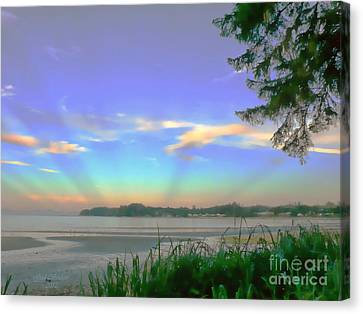 Sunset Rays Canvas Print