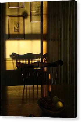 Sunset Shadows Canvas Print by Mark Haley