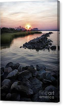 Sunset Canvas Print by Thanh Tran