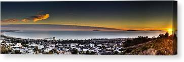 Sunset Ventura Ca Canvas Print by Joe  Palermo