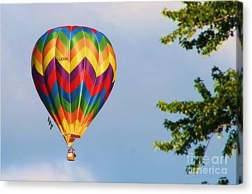 Sunshine On Balloon Canvas Print
