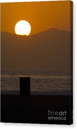 Sunst Over Malibu  Canvas Print by Micah May