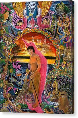 Canvas Print - Supai Pucabufeo by Pablo Amaringo