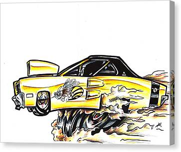 Super Bee Canvas Print