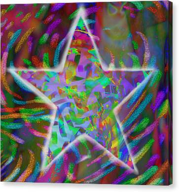 Super Star Canvas Print by Kevin Caudill