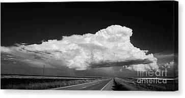 Supercell Canvas Print by Keith Kapple