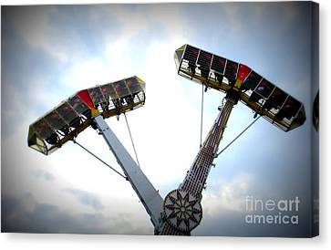 Superflyer Canvas Print by Maria Scarfone