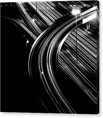 Superhighway Canvas Print by Andy Teo aka Photocillin