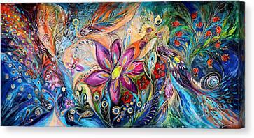 Supremacy Of Blue Canvas Print by Elena Kotliarker