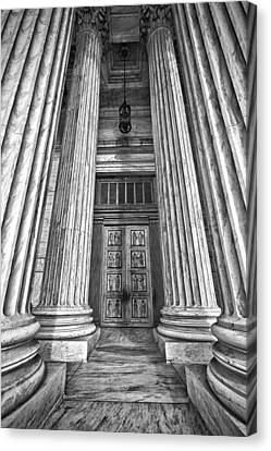 Supreme Court Building 11 Canvas Print by Val Black Russian Tourchin