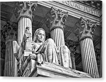 Supreme Court Building 15 Canvas Print by Val Black Russian Tourchin