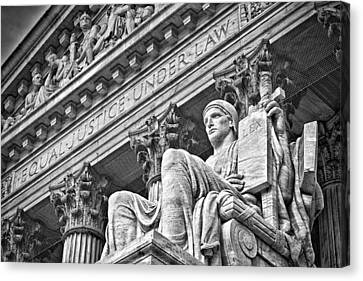 Supreme Court Building 22 Canvas Print by Val Black Russian Tourchin