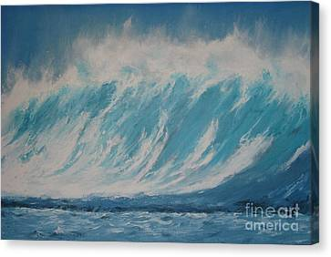 Surf Up Canvas Print by Ronald Tseng