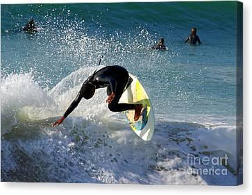 Dana Canvas Print - Surfer by Carlos Caetano