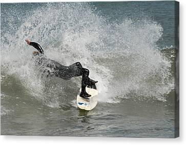 Surfing 396 Canvas Print by Joyce StJames