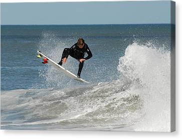 Surfing 399 Canvas Print by Joyce StJames