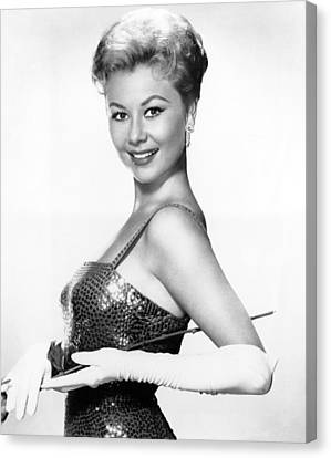Surprise Package, Mitzi Gaynor, 1960 Canvas Print by Everett