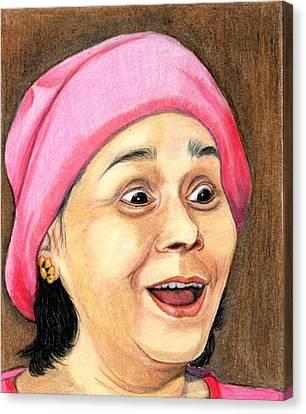 Surprise Canvas Print by Saumya Vasudev Karivellur