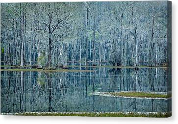 Surreal Blue Canvas Print by Denis Lemay