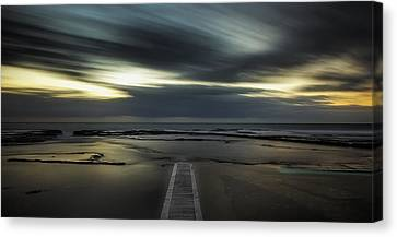 Surreal Narrabeen Canvas Print by Mark Lucey