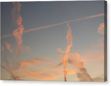 Surreal Sky Canvas Print by Russ Bertlow