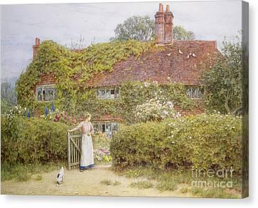 Surrey Cottage Canvas Print
