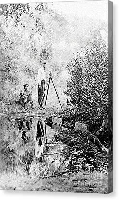 Survey Crew Canvas Print