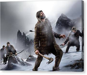 Survival Of The Fittest, Artwork Canvas Print