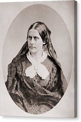 Susan B. Anthony 1820 �1906, American Canvas Print by Everett