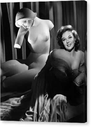 Susan Hayward, Ca. 1952 Canvas Print by Everett