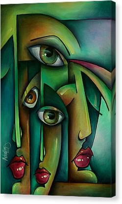 'suspicion' Canvas Print