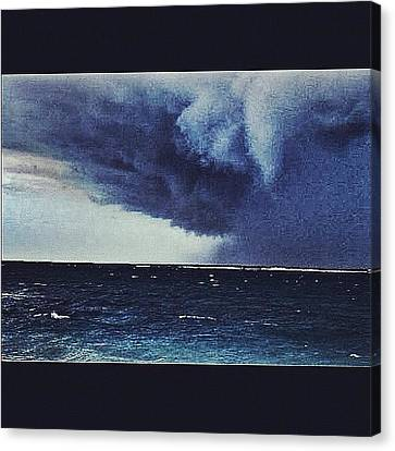 #svcstorms #hurrican #ike Is On Its Way Canvas Print by Andy Lee