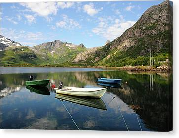 Norway Canvas Print - Svolvær To Laukvik, Lofoten, Norway by Anjci (c) All Rights Reserved