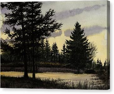 Swallow Hollow Canvas Print by Arthur Barnes